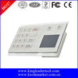 Cuerpo de acero robusto con 16 Teclas rasantes y el touchpad integrado