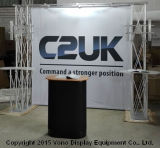 Индикация будочки ферменной конструкции торговой выставки с 2 счетчиками