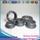 Anel de Ssic Rbsic do carboneto de silicone dos anéis de selagem do espaço em branco do carboneto de silicone