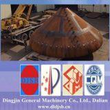 Grandes cones da peça da embarcação de pressão da especificação