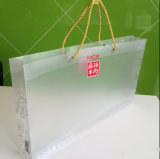 Kundenspezifisches einbrennendes Drucken Plastik-pp.-Beutel mit Seil (grosser Belüftung-Beutel)