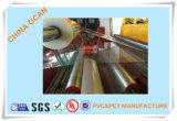 hoja rígida transparente gruesa del PVC de 0.35m m para el rectángulo plegable