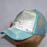 Выдвиженческий шлем сетки водителя грузовика вышивки