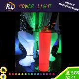 LED 가구 Rechangeable RGB에 의하여 점화되는 플라스틱 의자