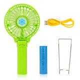 Fabrik-Preis-Portable gevermenschlichter mini elektrischer Handfan, USB-nachladbarer Fan