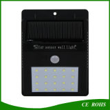 普及したPIRセンサーの太陽庭のデッキランプの壁の塀LEDライト