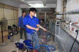 Marcar la máquina que pinta (con vaporizador) privada de aire de alta presión de V con la bomba de pistón larga