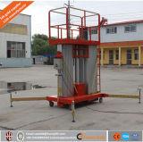 Fabrik-Verkauf 16m drei Mast-Aluminiumlegierung-Mann-Plattform-Aufzug