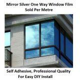 窓ガラスの保護フィルムの青カラー