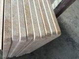 Верхняя часть Silk каменного гранита золота встречная для кухни, ванной комнаты