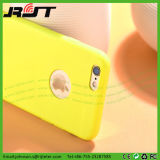 Caja mate del teléfono móvil del color sólido TPU para el iPhone 6/6s más (RJT-0262)