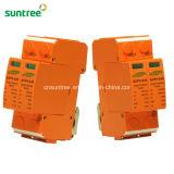 2p DC 1000V 20-40ka SPD for Solar Photovoltaic PV System Surge Protector