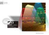 Luz de painel 600X600 do diodo emissor de luz do RGB do controle do excitador SMD5050 WiFi de DC24V Meanwell