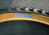 Neumático amarillo de la bicicleta de la pared del color 26*2.125