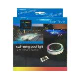 L'indicatore luminoso di galleggiamento solare del raggruppamento, l'indicatore luminoso alimentato solare della decorazione del LED per la piscina, il giardino ed il partito IP68 esterno impermeabilizzano il colore chiaro variabile tramite telecomando