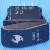 перекидной переключатель 5pin загоранный IP67 Carling морской