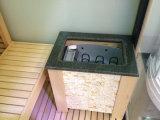 De binnen Grote Zaal van de Douche van de Sauna van de Stoom van de Persoon 4+ Droge