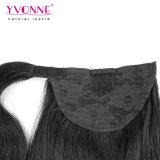 最上質の人間の毛髪のポニーテールの拡張