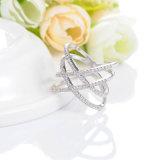 Le micro neuf de modèle pavent le bijou 2016 (CRI1029) de boucle de diamant de la CZ