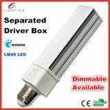 Lâmpada do diodo emissor de luz do G-24 do PLC do poder superior