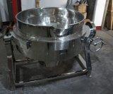 衛生ステンレス鋼のガス暖房の傾けタイプJacketedやかん