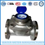 Medidor de água de Woltmann do aço inoxidável