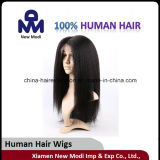 Human Hair Full Lace Wig with Silk Top
