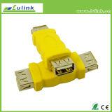 Maschio dell'adattatore del VGA da 90 gradi al USB della femmina DVI HDMI