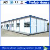 Camera prefabbricata economizzatrice d'energia di vendita calda dei comitati di parete chiari del panino e della struttura d'acciaio