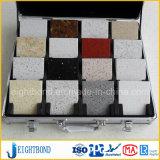 Honey&simg en aluminium en pierre de marbre ; Panneau d'Omb pour des meubles