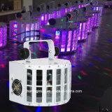디스코 DJ 사용을%s LED 광속 Derby 소형 빛