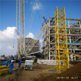 건물을%s Qtz315 (7040) 18ton Topkit 탑 기중기