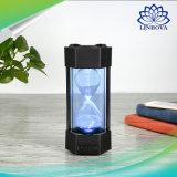 Диктор отметчика времени песка Sandglass стерео миниый беспроволочный с светильником СИД