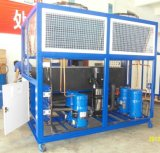 30 tonnellate hanno impaccato il refrigeratore freddo della macchina raffreddato aria di raffreddamento ad acqua del compressore di Danfoss