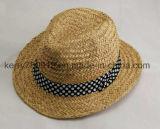 Preiswerter und eleganter Stroh-/Summer-Hut der Dame-Strohhut (DH-LH91112)