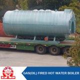 Caldaia di gas industriale dell'olio con il bruciatore