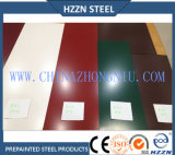 Bobina de aço Prepainted pintura de Ral6005 Akzo Nobel