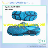 EVA belemmert de Plastic Vlakke Mensen Sandals van Sandals Holey