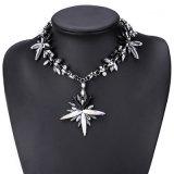 Monili di cristallo della collana del Choker del Rhinestone variopinto di modo