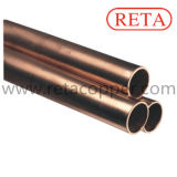 Tubulação de cobre parcialmente dura de ASTM B280