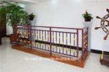 Barandilla de acero galvanizada decorativa de alta calidad 20 del balcón de la aleación de Haohan Alluminum