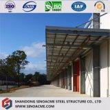 Edificio/costruzione d'acciaio prefabbricati montati rapidi/liberato di
