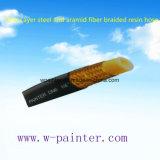 "1/4 "" un boyau tressé d'acier de couche et de résine de fibre d'Aramid"