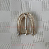 Nickel Belt Metal Buckle Accessory / Backpack Buckle Hardware