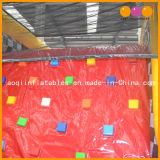 トラフィックの主題の子供(AQ01207)のための膨脹可能な障害物コースの運動場
