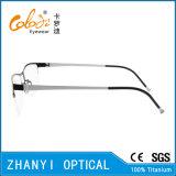 Telaio dell'ottica di Eyewear di vetro di titanio Semi-Senza orlo leggeri del monocolo (8115)