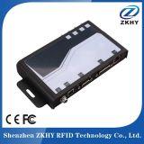Leitor passivo da escala 900MHz RFID longa da freqüência ultraelevada com Wiegand RS485 RS232