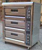 Horno eléctrico de la pizza de la calidad estable de la fábrica de China