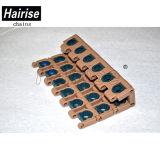 Hairise plástico modular 27,2 mm plana Transportadores Sistema de cinturón
