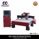 Máquina de gravura de alumínio acrílica do CNC do cobre